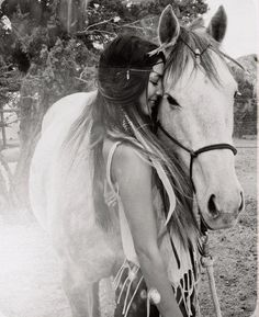 la-vie-bohemienne:  Girl and her horse on We Heart It - http://weheartit.com/entry/53762777/via/Bella_Quotidiano
