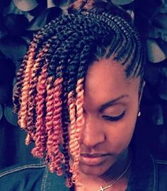 Best Hairdos For Curly Hair Protective Hairstyles For Natural Hair, Natural Hair Twists, Natural Hair Updo, Natural Hair Styles, Natural Beauty, Natural Women, Plats Hairstyles, Twist Hairstyles, Kinky Curly Hair