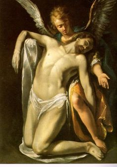 Christ Supported by an Angel, Crespi by Defensio Fidei, via Flickr