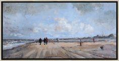 schilderij Herfstlicht van Herman van Hoogdalem bij wildevuur.nl