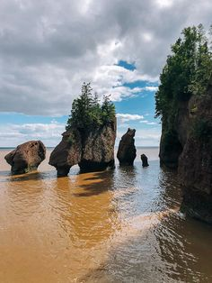 We hear the tides are incredible up in Nova Scotia in the Bay of Fundy and that the Cabot Trail is famous for being one of the most scenic drives in Canada. Nova Scotia Travel, Cabot Trail, East Coast Road Trip, Cape Breton, Beach Trip, Beach Travel, New Brunswick, Canada Travel, National Parks