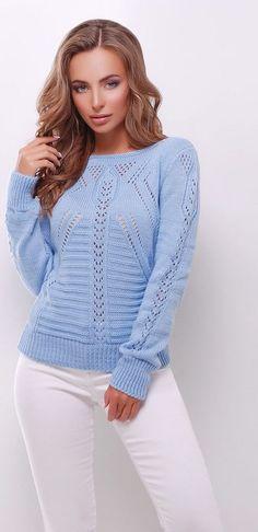 Trendy knitting sweter for women knitwear 70 ideas Easy Knitting, Knitting For Beginners, Knitting Sweaters, Baby Knitting Patterns, Knit Fashion, Sweater Fashion, Skirt Pattern Free, Knitted Hats, Knitwear