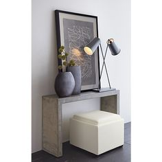 Mason Console Table in Side, Coffee Tables | Crate and Barrel