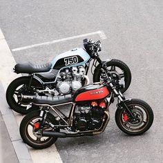 Honda CB750s via Deus