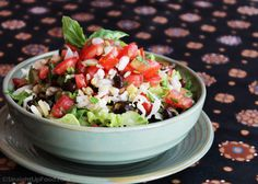 Burrito Bowl, Salsa, Guacamole: This recipe was inspired by many trips to Whole Foods Market for a burrito bowl when I was too tired to cook. Burrito bowls came onto the scene as more people cut out refined carbs, including tortillas. This is one of my favorite easy meals.
