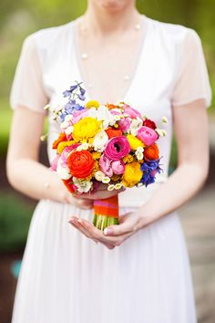 gorgeous colorful bouquet!