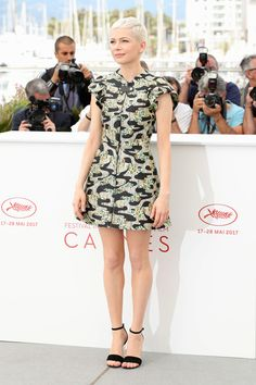 Cannes 2017 Style File: Michelle Williams in Louis Vuitton | Tom + Lorenzo