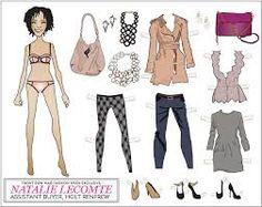 Resultado de imagen para paper dolls fashion