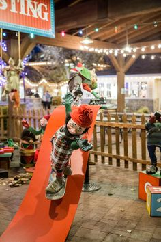 Wouldn't testing toys be a great job? See the Gardner Village elves do it all!