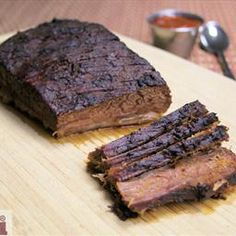 Oven Roasted Brisket (Pecho de Res Adobado) on BigOven: A variation of the traditional Texas BBQ brisket. This recipe adds depth to this classic dish. Serve it with a side of your favorite BBQ sauce, mac & cheese and coleslaw. Yum!