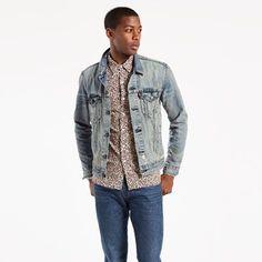 350b29b5e5256 Denim Jackets - Shop Men s Jean Jackets   Outerwear