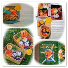 lunchbox ideas from Little Treasure magazine