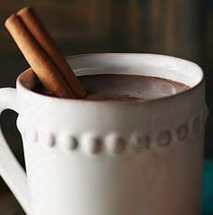 Drinking Chocolate is thicker and more rich than ordinary hot chocolate or hot cocoa. Perfect for chilly nights and sitting by the fireplace.
