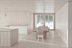 Unusually Minimalist Four Cornered Villa For An Ascetic Lifestyle