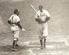 Bill Dickey and Hank Greenberg.
