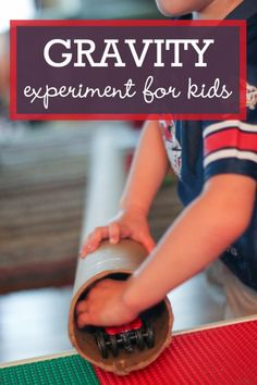 gravity experiment for kids