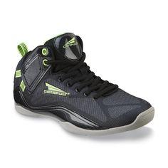 CATAPULT Men's Larson Black/Neon Green Athletic Shoe