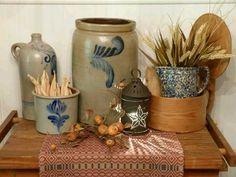 Salt Glazed Stoneware...