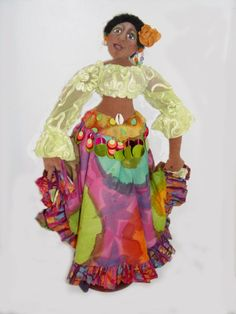 Judith Jameson Doll Classic Handmade By Artist Mari Morris One-Of-A-Kind #MariMorrisArtDolls