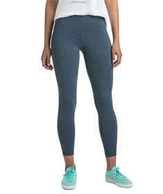 Solid Heather Performance Leggings