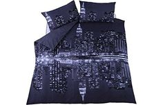 New York Reflections Bedding Set - Double
