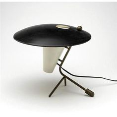 Pierre Guariche attributed, table lamp fir Diserot, 1952.