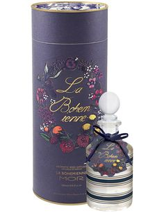 New - Mor Jardinere Aromatic Reed Diffuser (La Bohemienne) Just opened this in my home.  Designed to create the ambience of a mysterious forest trail, with balsamic blackberries, apple blossoms, tangerine, purple orchids, jasmine and vanilla.