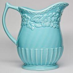 Classic Floral Pitcher. I've got a soft spot for ceramics like this. | $14.99 @ totsy.com
