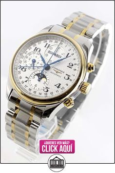 Longines Master Collection Automatic Chronograph Day Date Moonphase Mens Watch L2.773.5.78.7  ✿ Relojes para hombre - (Lujo) ✿ ▬► Ver oferta: https://comprar.io/goto/B00FWKPM4C