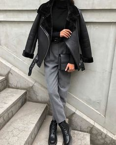 Winter Fashion Outfits, Look Fashion, Winter Outfits, Autumn Fashion, Fashion Dresses, Formal Fashion, Iu Fashion, Parisian Fashion, Bohemian Fashion