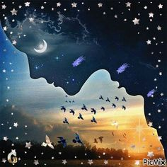 As the sun goes down and the moon comes out I say my prayers and thank The Creator for my blessings and my friends and the people who are in my life. May your evening be blessed and filled with heavenly dreams, Cherokee Billie Spiritual Advisor