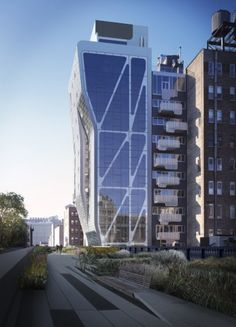 High Line 23 in NY by Neil M. Denari Architects