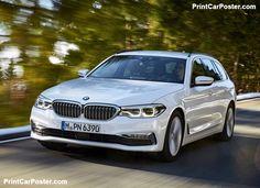 BMW 5-Series Touring 2018 poster, #poster, #mousepad, #tshirt, #printcarposter