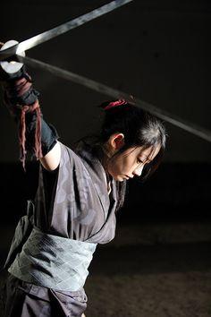 The Blind Ninja  Hijii Mika in Rogue Ninja