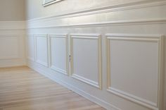 4 Insane Tricks: Wainscoting Kitchen Diy wainscoting bar board and batten.Wainscoting Colors Bathroom Makeovers wainscoting how to. Beadboard Wainscoting, Wainscoting Nursery, Dining Room Wainscoting, Wainscoting Panels, Wainscoting Ideas, Installing Wainscoting, Cool Stuff, Stairway, Decoration