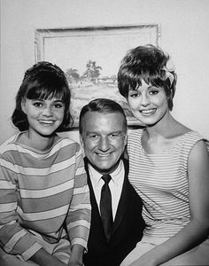 """Gidget"" Sally Field, Don Porter, Betty Conner 1965 ABC. Don Porter was handsome."