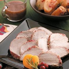 Cranberry-Apricot Pork Roast with Potatoes, slow cooker  low sodium