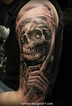 skull tattoo tattoos art design style idea picture image http://www.tattoo-designiart.com/skull-tattoos-designs/skull-tattoo-design-27/