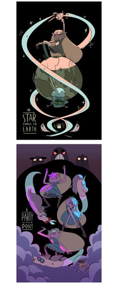 Star Vs. The Forces of Evil, por Evon Freeman