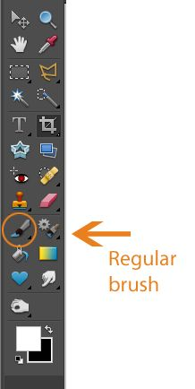 Photoshop Elements Tutorial:  Brushes - Everything You Ever Wanted to Know by Texas Chicks Blogs & Pics