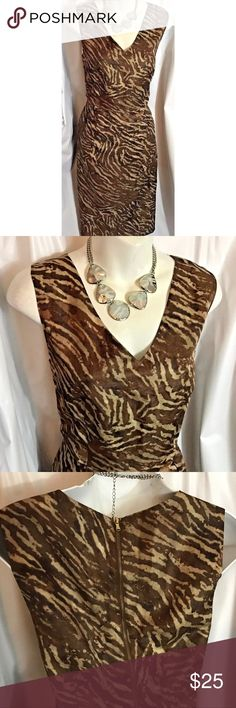 a2d569f6d0 Banana Republic Dress Brown and beige dress Banana Republic Dresses