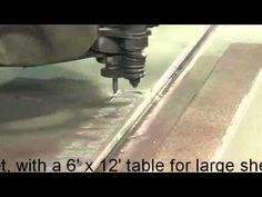 Pioneer Waterjets - Flashcut - Microscribe - YouTube
