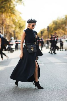 All the Best Street StyleFromParis Fashion Week via @WhoWhatWear