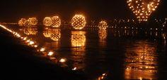 Le vieux port entre flammes et flots.  Marseille.  Du 3 au 4 mai