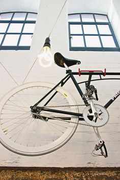 A bike display at Provide, an independent boutique in the Custard Factory, Birmingham. Photo: Matthew Buck