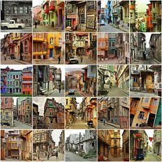 Balat Sokakları, İstanbul by poolhouse  Streets of Balat