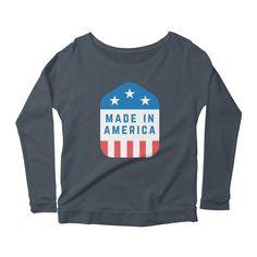 Made In America Women's by Big E Design Co.