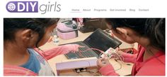 """DIY (""""Do-It-Yourself"""") Girls' mission is to increase women and girls' interest in technology, engineering and making by providing hands-on educational experiences. DIY Girls develops and implements educational programs and events designed to encourage exploration with technology, promote self-confidence and support aspiration to technical careers."""