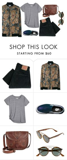 """""""#tb"""" by kisseszter99 on Polyvore featuring Levi's, Yves Saint Laurent, Vans, Patricia Nash, Ray-Ban and vintage"""