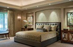 muebles de habitación de matrimonio beige